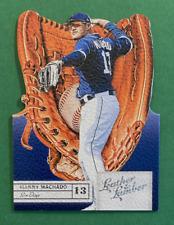 2019 Panini Leather & Lumber Baseball Manny Machado Die Cut Gloves #14