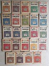"""Lot 24 livres différents Collection """"le livre moderne illustré"""" FERENCZI (Lot 3)"""