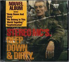 "CD NEUF -  STEREO MC'S. "" Deep Down & Dirty  "" 12 titres """