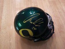 Kiko Alonso Oregon Ducks Signed Autographed Mini Football Helmet COA Eagles