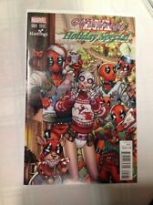 Gwenpool Holiday Special #1 Todd Nauck Hastings Variant Deadpool Marvel 2016 NM