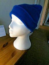 Soft Feel Beanie Hats Mens & Ladies Adults Winter Warm Skiing Royal Blue