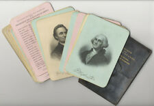 Trautmann: PRESIDENTS OF THE UNITED STATES.- 21 Portaits (steel engraved plates)