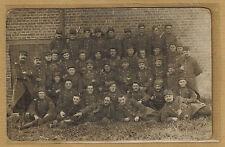 Cpa Militaria Carte Photo régiment d'infanterie belge m0333