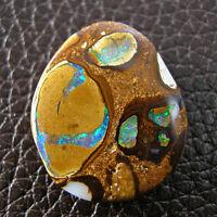 Unique Solide Opale Boulder d'Australie Pendantif 24,22 Ct