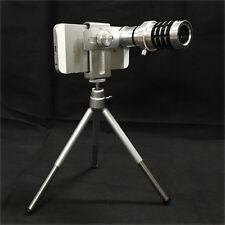 Universal 12X Zoom Phone Telescope Telephoto Camera Lens + Tripod IPhone Android
