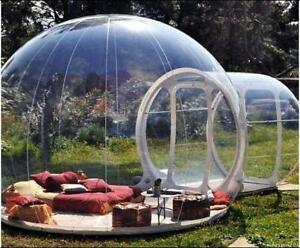Inflatable Bubble House 3M/4M/5M Dia Outdoor Bubble Tent For Camping PVC Fast