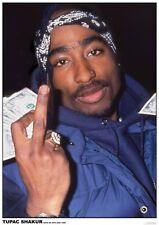 2 PAC TUPAC SHAKUR POSTER NEW YORK CITY 56th STREET 1996