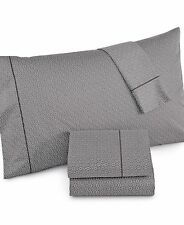 Hotel Collection 525 TC 100% Cotton CHARCOAL Printed Twin XL Sheet Set $215