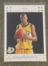 2007-2008 Topps Kevin Durant Rookie White Border #2