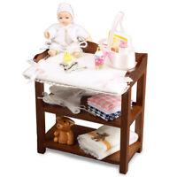 Reutter Porcelain  Dollhouse Miniature Porcelain Baby Girl