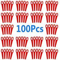 100 Kunstoffmesser passt - ALDI/Hofer Akku Rasentrimmer Gardenline GLART 18 Li