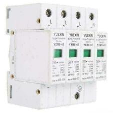 Überspannungsschutz Überspannungsableiter Blitzschutz 40KA 4-Polig Ableiter