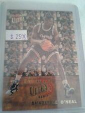 92/93 ULTRA MAGIC SHAQ O'NEAL ALL ROOKIE SERIES INSERT CARD #7, RC, HOF, Lakers