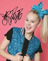 JOJO SIWA SIGNED AUTOGRAPHED A4 PP PHOTO POSTER