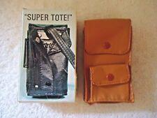 "Vintage "" NOS "" NIB "" Made In Hong Kong "" Super Tote ! "" GREAT COLLECTIBLE ITEM"