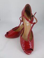 Nuova inserzioneLunghi piedi Boutique rosso con tacco tg UK 8 EU 42 LN19 84  vendite 4d3c958bb75