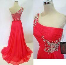 Cassandra Stone by Mac Duggal Watermelon Gown 8