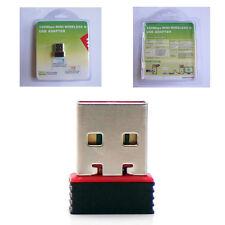 150M USB Wifi Micro Adapter Dongle 802.11n Plug and Play for Raspberry Pi 2 B+
