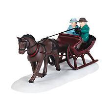 Dept 56 NEV New England Sleigh Ride D56 2014 Accessory 4036536 Horse New England