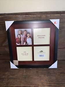 New Square Collage Frame For Four 4 x 4 Pictures