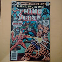 Marvel The Thing And The Scarecrow Comic Book Vol.1 #18 August 1976