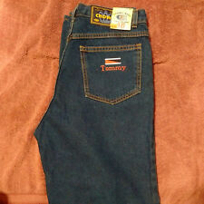 Vtg Crown Kids Jean w/Tommy Marking(pocket) Size 16 tapered legs USA RARE!!