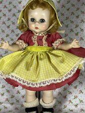 New ListingCirca 1955 Orig Madame Alexander 8� Hard Plastic Doll Straight Leg Walker
