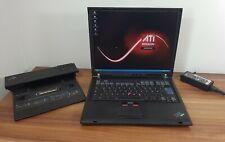 1600x1200 UXGA Business IBM T43p 2,13GHz 2GB 40GB Wlan ATi FireGL V3200 +Docking