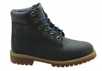 Timberland 6 Inch Premium Kids Boots Youths Juniors Leather Blue 9477R 9497R