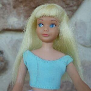 Vintage Skipper Doll  Very Blonde Straight Leg  1960's
