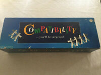 Compatibility Board Game Crown & Andrews 1995 Vintage Complete Retro