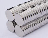 """10 25 50 100pc 25mm x 3mm 1"""" x 1/8"""" N52 Strong Disc Rare Earth Neodymium Magnet"""