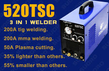 3in1 50A PLASMA CUTTER 200A TIG ARC WELDER 110/220V & consumable IN US  STOCK