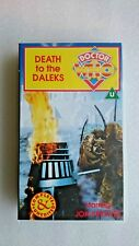 Doctor Who - Death To The Daleks (VHS, 1995) - Jon Pertwee