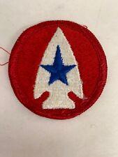 Vintage Us Army Shoulder Patch Combat Development Command Red