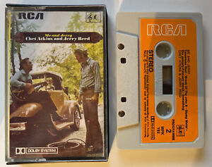 RARE ME AND JERRY CHET ATKINS AND JERRY REED MUSIC CASSETTE MPK 192