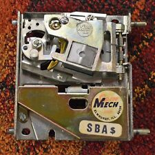 SBA COIN MECH Susan B Anthony Dollar Acceptor For PINBALL Machines ARCADE GAMES