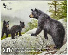 2017 Canada Quebec  Wildlife Habitat Conservation  -DQ84   Mint NH