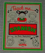 Teach Me Spanish Judy Mahoney Book No Cassette 1985 Pb Foreign Language Music
