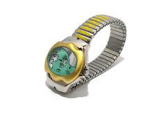 RARO OROLOGIO VINTAGE JAMAICA TIME unisex JUMP SALTARELLO giallo oro  J2090L