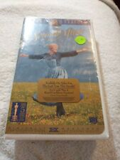 New Sealed The Sound of Music VHS Video Tape with Clamshell Case