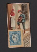 1889 W. Duke Sons & Co. Postage Stamps N85 SPANISH LETTER CARRIER