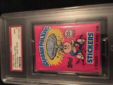 1985 TOPPS GARBAGE PAIL KIDS SERIES 1 WAX PACK PSA 9 MINT BONUS PSA 8 PACK FREE