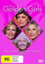 THE GOLDEN GIRLS SEASON 3 DVD=4 DISC SET=REGION 4 AUSTRALIAN RELEASE=LIKE NEW
