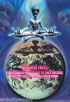 EXPLAINED POSTER FREE SHIP #FPO401  RP57 G WHY ALIENS SCIENCE FICTION