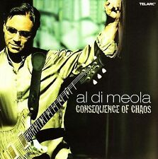 Al Di Meola : Consequence of Chaos CD (2012)   NEW PROMO FREE SHIPPING