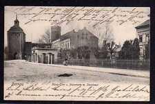 92875 AK Bernau König Tor 1903 Pulverturm Storchnest