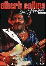 ALBERT COLLINS – LIVE AT MONTRENX 1992 (DVD) R- ALL- NEW-FREE POST IN AUSTRALIA