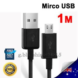1M Charger Charging Cable Cord Sync USB For MICROSOFT XBOX ONE PS4 Controller